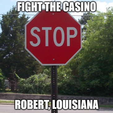 Time to fight the casino in Robert